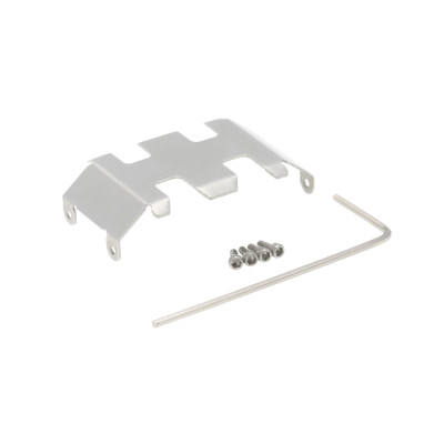 Axial SCX24 Stainless Steel Chassis Armor Guard Plate 1pc