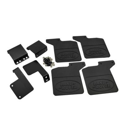 Rubber Mud Flap Fender Set Black for (TRX-4) DTUP02057B: Land Rover 4pcs/set