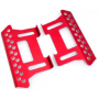 Rock Slider i aluminium till Axial SCX10 - Röd