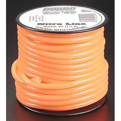 DU-BRO - Silikonslang Orange 15.2m (2mm id) - DU-BRO