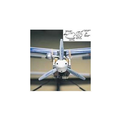 DU-BRO - Spinner 3-blad vit 75mm - DU-BRO