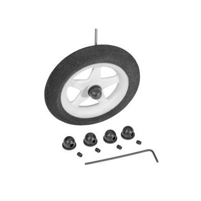 DU-BRO - Hjulstopp Micro 1,6mm 4st - DU-BRO
