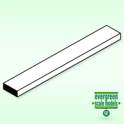 EVERGREEN - Remsa 3.2x6.35x350 mm (5) - EVERGREEN