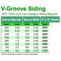 Panel-V 0.5x150x300mm 2.0space-EVERGREEN-2080