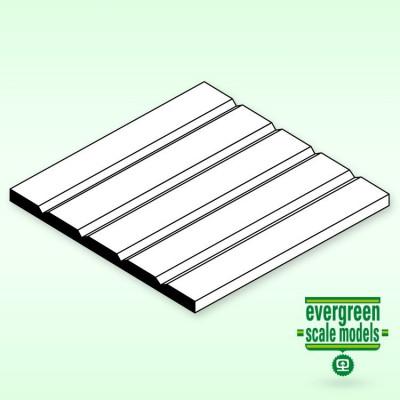 EVERGREEN - Panel-V Skiva 1x150x300mm 2.5 space - EVERGREEN