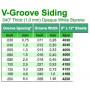 Panel-V Skiva 1x150x300mm 2.5 space-EVERGREEN-4100