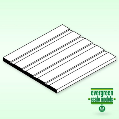 EVERGREEN - Panel Skiva 1x150x300 mm 2.7 space - EVERGREEN