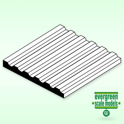 EVERGREEN - Räfflad 1x150x300mm 1.5 space - EVERGREEN
