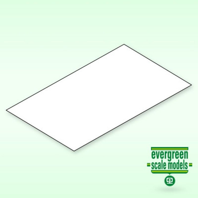 EVERGREEN - Skiva 0.38x200x530 mm vit (6) - EVERGREEN