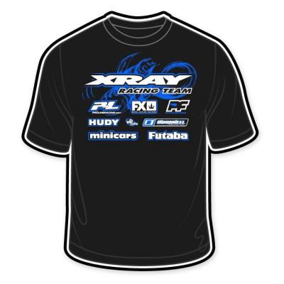 XRAY - T-shirt S Svart Rynos/XRAY 2014 - XRAY