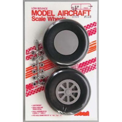 ROBART - Hjul skala spårmönster 83mm - ROBART