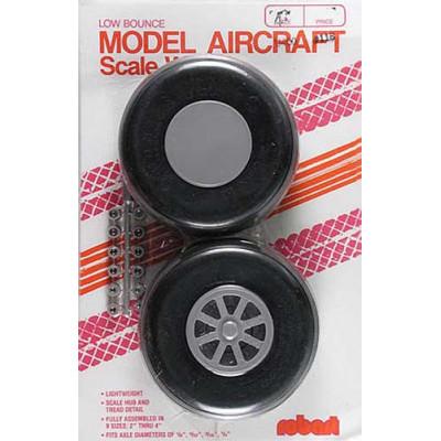 ROBART - Hjul skala spårmönster 102mm - ROBART