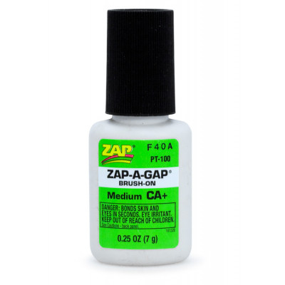ZAP - ZAP CA+ 1/4 oz 7gr Brush-On Grön - ZAP