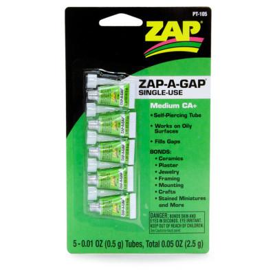 ZAP - ZAP-A-GAP One-time-Use CA 5x0.5gr - ZAP