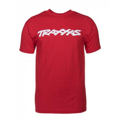 TRAXXAS - T-shirt Röd Traxxas-logga S - TRAXXAS