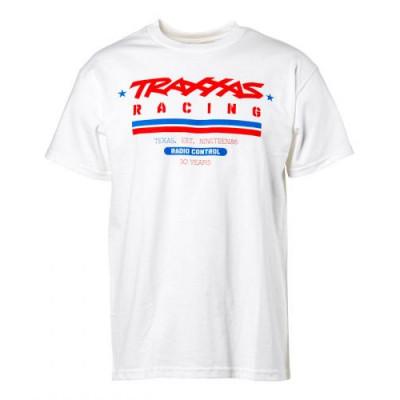 TRAXXAS - T-shirt Vit Traxxas Racing Heritage XL - TRAXXAS