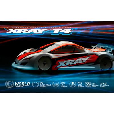 XRAY - XRAY T4 2021 Spec Alu Flex 1/10 Touring - XRAY