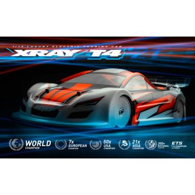 XRAY - XRAY T4 2021 Spec Alu Solid 1/10 Touring - XRAY