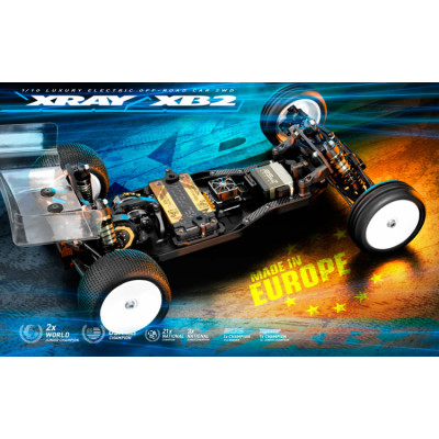 XRAY - XRAY XB2D'21 - Dirt Edition 2WD El-buggy 1/10 - XRAY