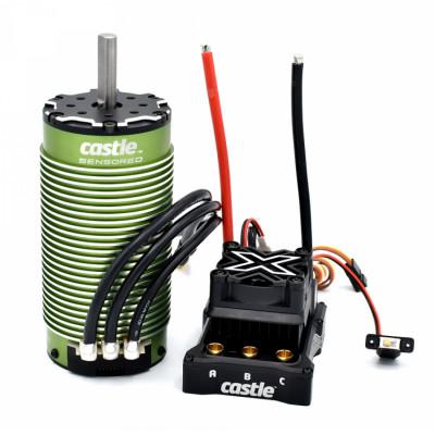 CASTLE CREATION - Mamba Monster X 8S 33,6V 2028-800kV Sensor Combo - CASTLE CREATION