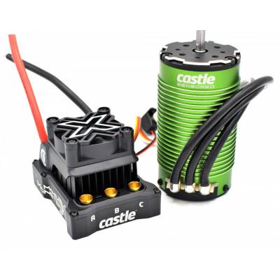 CASTLE CREATION - Mamba Monster X 8S 33,6V 1717-1650KV Sensor Combo - CASTLE CREATION
