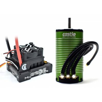 CASTLE CREATION - Mamba Monster X 8S 33,6V 1717-1260KV Sensor Combo - CASTLE CREATION