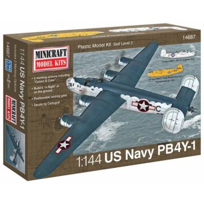 MINICRAFT MODELS - 1/144 PB4Y-1 US Navy &quot
