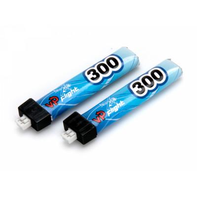 VAPEX - Li-Po Batteri 1S 3,8V 300mAh 30C JST-PH 2.0mm 2-Pack* SALE - VAPEX