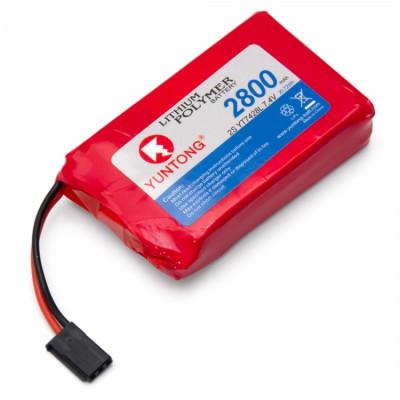 YUNTONG - Sändar/Mottagar Batteri Li-Po 7,4V 2800mAh* SALE - YUNTONG